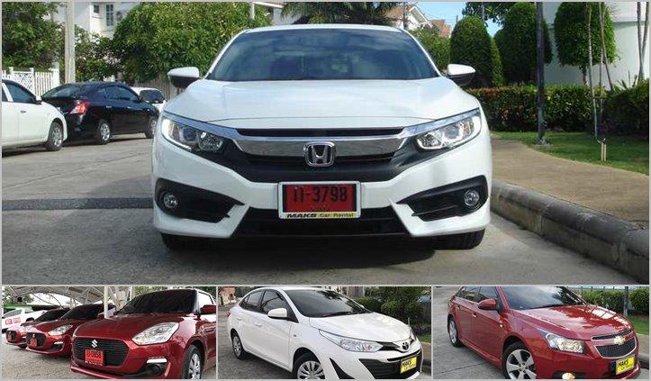 Neue Mietfahrzeuge in Pattaya