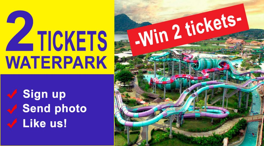 win 2 ticket to water park