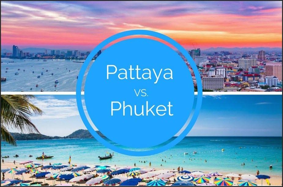 Паттайя или Пхукет