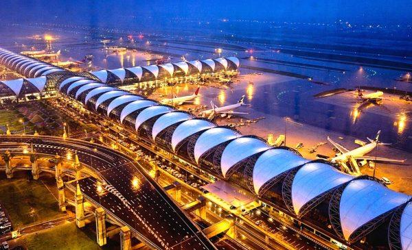Bangkok airport building