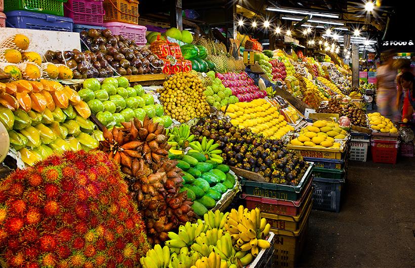 Markets of Pattaya