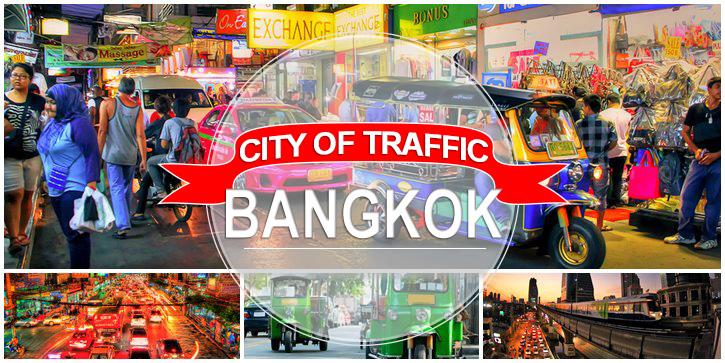Bangkok Traffic - Getting Around