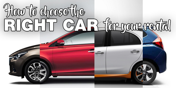 How To Choose The Right Car For Your Rental