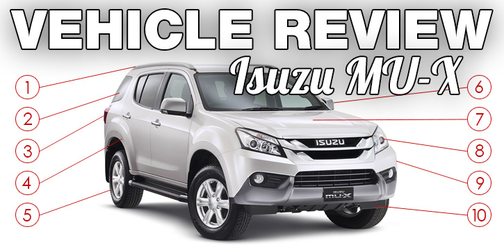 Vehicle Review - Isuzu MU-X