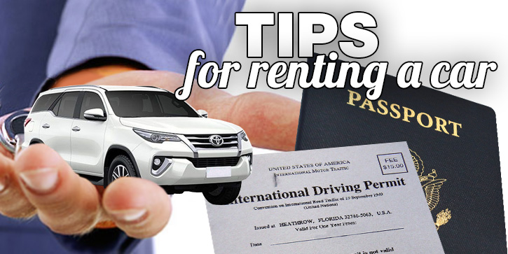 Tips For Renting A Car