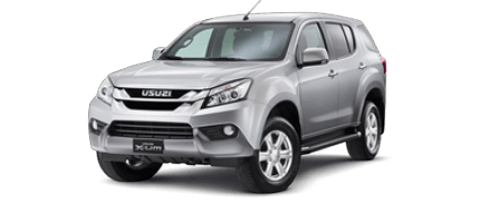 Car hire Isuzu MUX In Pattaya