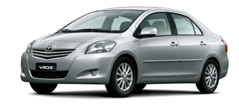 Car hire Toyota Vios In Pattaya