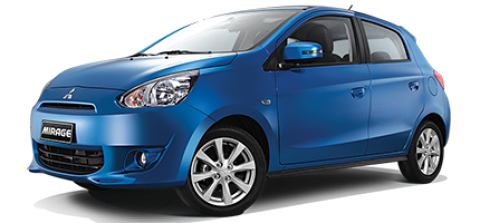 Car hire Mitsubishi Mirage In Pattaya