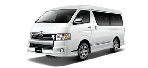 Car hire Toyota Ventury In Pattaya