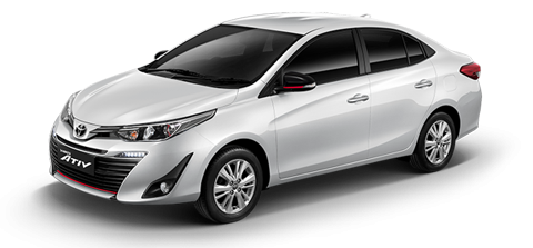 Car hire NEW Toyota In Pattaya