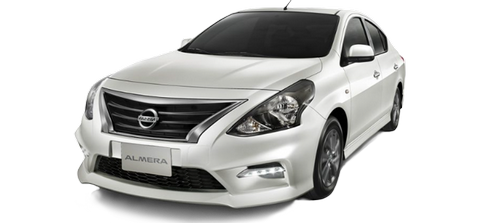 Car hire NEW Nissan In Pattaya