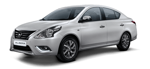 Car hire Nissan Almera In Pattaya