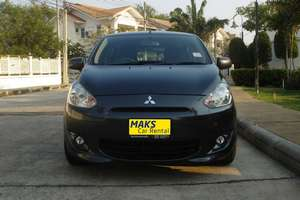 Rent a car Mitsubishi Mirage (2014) - photo 2