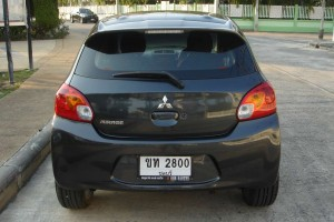 Rent a car Mitsubishi Mirage (2014) - photo 5