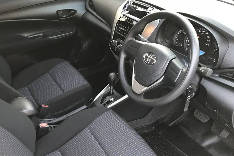 Toyota Yaris Ativ for rent Pattaya